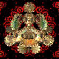 Angry Fractal by LoloAlien