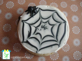 Spider Web Cookie by SugiAi