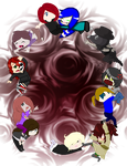 Chibi Circle COMPLETED COLLAB by Scarmmetry