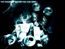 ThePower of Cigarettes andBeer by RageOne