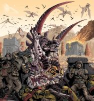 Massacre at Outpost Zulu35 by discogangsta