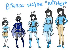Bianca wayne: age and outfits  by smileprettycure