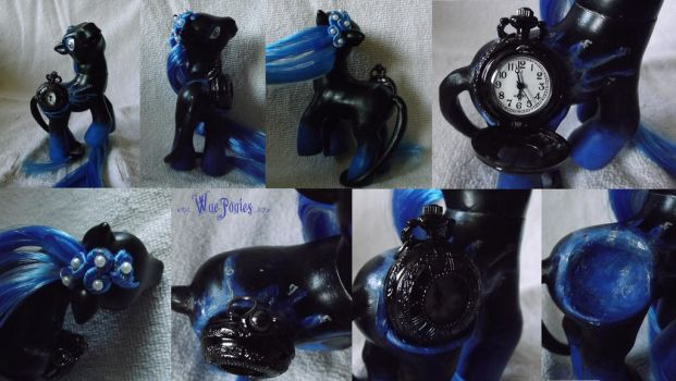 G3 Renzokutai, Watercolour Pocketwatch Pony by Cemetery-Nightmare