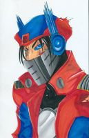 Transformers Prime: Humanoids--Optimus Prime by mangakallector