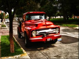 Red Truck by sixt0p