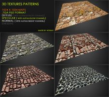 Free textures pack 35 by Nobiax