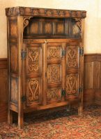 Castle: antique cupboard by barefootliam-stock
