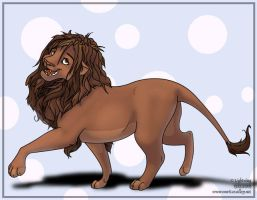 Lion Prance. by blayrd