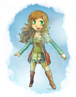 Skyward Sword Me by Linkerbell