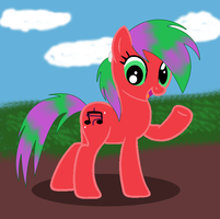 RQ: Melody The Pony by EctoPhantomiix