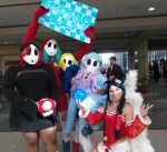 Megacon 2016 shy gals and ahri 2 by kingofthedededes73
