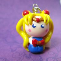 Sailor Moon chibi by TrenoNights