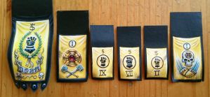 Imperial Fist banners by Wideen
