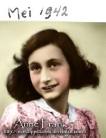 Happy Birthday, Anne Frank by Livadialilacs