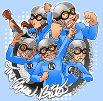 The Aquabats by AceroTiburon