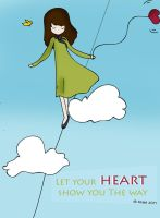 let your heart by A-s-m-o-O