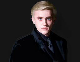 Draco Malfoy by CatheE123