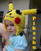 Pikachu Hat by InjectImperfection