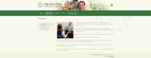 Agnese Pearce Web Design by SycoLV