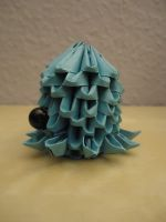 3D Origami - Octopus - 2 by Mixowelle