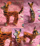 Serval Wild Cat OOAK Custom Figure by KrazyKari