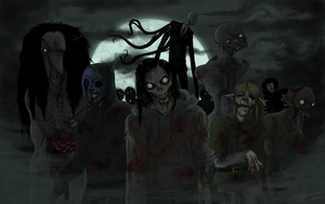 World War C (Creepy Pastacolypse) by SUCHanARTIST13