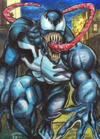 Venom Personal Sketch Card 2 by AHochrein2010
