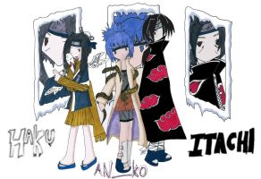 ninja team Haitan by wingmetallium