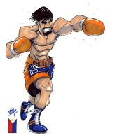 Manny Pacquiao by SketcheeBizniz