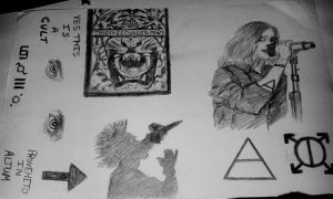My 30 Seconds to Mars Sketch! by NivyJoeBellamy