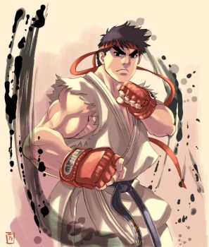 SF IV - RYU by ultimatesol
