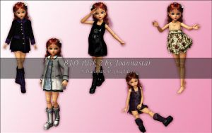 BJD Pack 2 by joannastar-stock