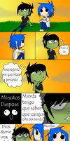 2D y Murdoc - you're thinking by AniiTaRuiz