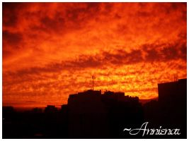 Red Red Sky.. by annienar