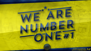 WE ARE NUMBER ONE #1 by Meridiann