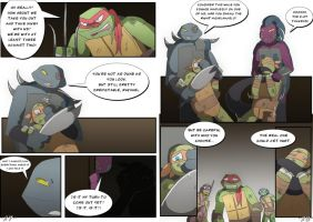 TMNT DR: Pages 27-28 by Samantai