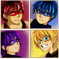Teenage Ninjas by zims-lost-soul