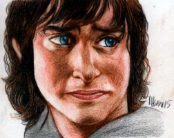 Frodo Baggins from The Lord of The Rings by ihsans-Art