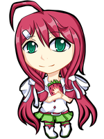 Strawberrie Chibi by EmilssH
