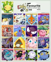 Favorite Pokemon Meme by ehllychan
