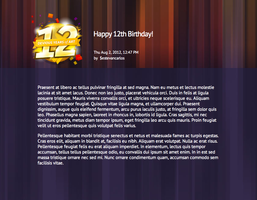 12th Birthday Skin by estevancarlos
