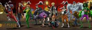 One Piece Halloween by GarthTheDestroyer