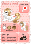 [Reference Sheet] Dreamy Mind by Nuumia