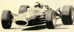 Lotus 49 by klem
