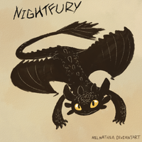Nightfury by MelNathea