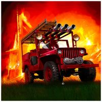 Willys Jeep  FireTeam by dugazm