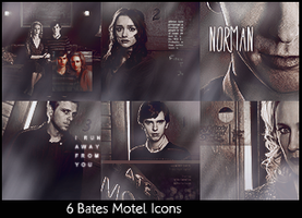 'Bates Motel' Icons by alice-castiel