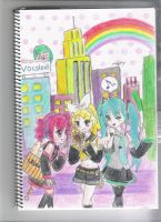 Vocaloids and  one Utauloid by puteriemily
