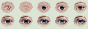 Eye Tutorial 2 by Selenada