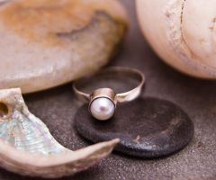Silver and pearl by OlgaC